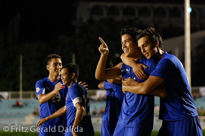 hellyeah-azkals:  BROMANCE ALERT! So what do we call this one? Carnis? Derli? Whatever this loveteam is called, its got to stop being too showy or we might just kill ourselves out of jealousy. :)))