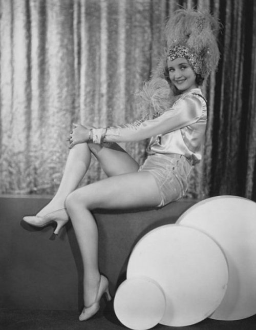 Marian Marsh in a very fancy and feathery hat - c. 1930s