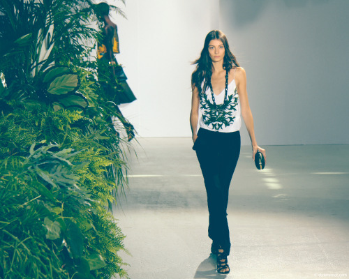 Maiyet Spring Summer 2013, inspired by the rich indigenous culture and the natural wonders of Peru - Muriel Beal