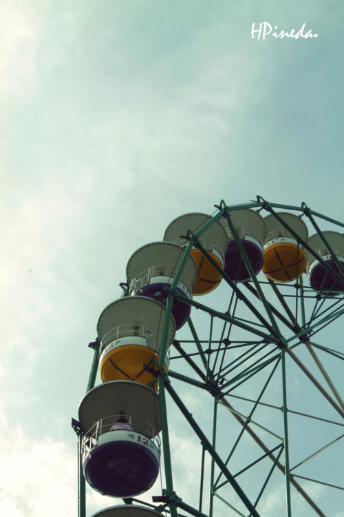 """I see nothing in space as promising as the view from a Ferris wheel.""  ― E.B. White, The Points Of My Compass"