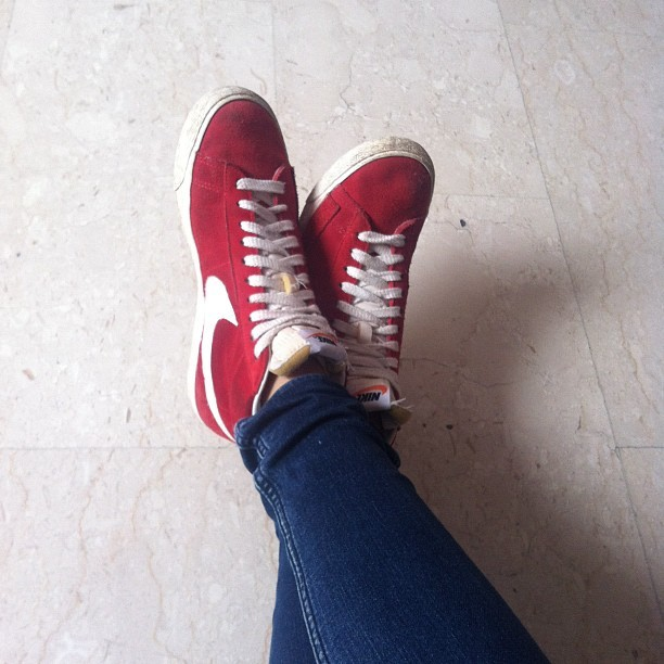 My shoes today (Taken with Instagram)