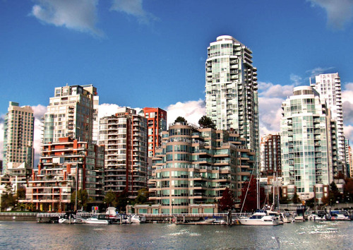 (via downtown Vancouver, a photo from British Columbia, Western | TrekEarth) Vancouver, British Columbia, Canada