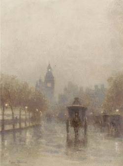poboh:  Big Ben, 1894, Rose Maynard Barton. English (1856 - 1929)