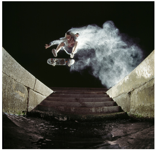 mpdrolet:  Skateboarding on dust  Roberto Alegria