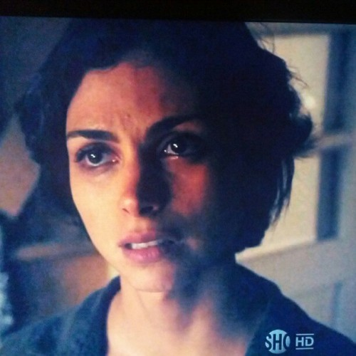Wife with shorter hear haz no fury #Homeland s2e1 (Taken with Instagram)