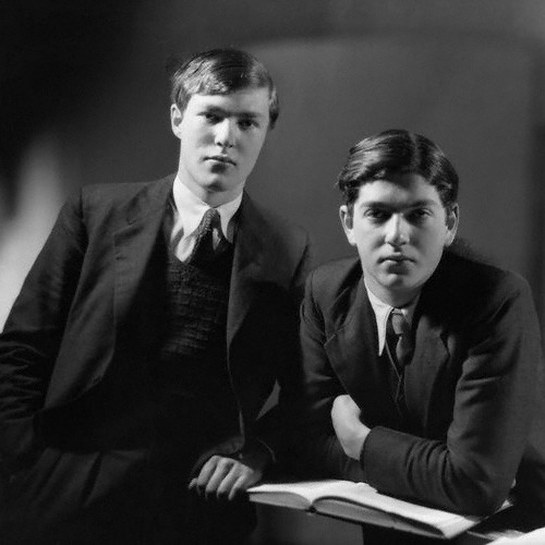 Photograph of Esmond and Giles Romilly taken in 1935 for the publication of Out of Bounds.