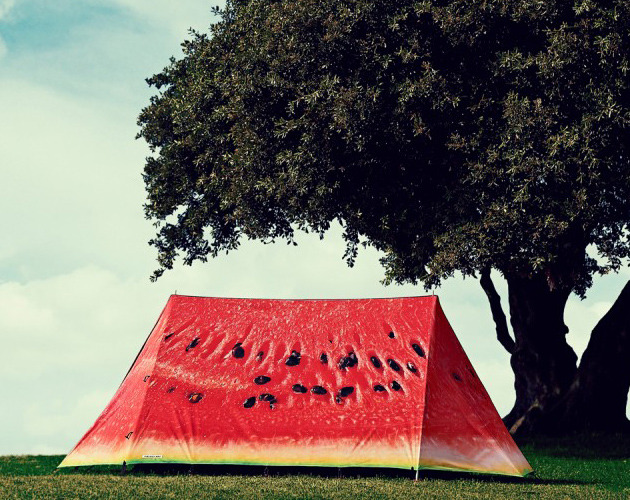 theseekr:  escapekit:  Watermelon tent  need