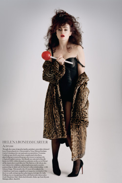 Helena Bonham Carter in Vogue UK | June 2012 A creepy beauty for a creepy month. Happy October!
