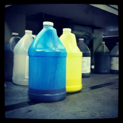 Name those colors! #BehindTheScenes @tkographix (Taken with Instagram)