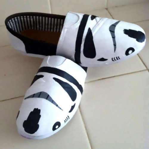 Stormtrooper Toms Shoes