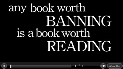 Celebrate Banned Books Week.