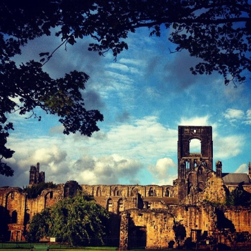 Kirkstall Abbey, Leeds Taken with Instagram