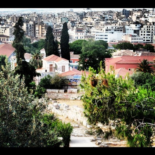 ATHENS: #snapseed #instacollage #instacanvas #instaframe #ig #instatags #instagram #instacam #iphone #icam #iphoto #statigram #webstagram #webstatags #statitags #instatake #instalovers #dailyphoto #athens #greece #ancient #ruins #trees #green #nature #buildings #cement #color #summer  (Taken with Instagram)