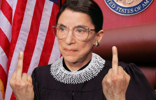"…when Ruth Bader Ginsberg finds your opinion ""stunningly retrogressive""."