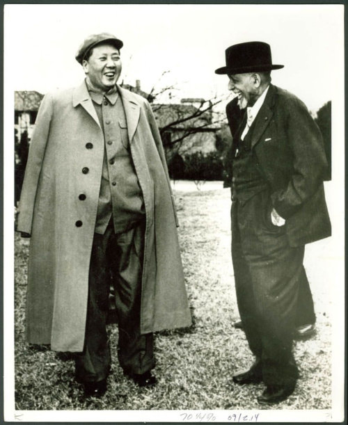 W.E.B DuBois and Mao Tse Tung