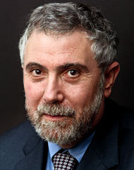 "PAUL KRUGMAN: HEAR HIM NOW, BELIEVE HIM LATER Articles to skip today: anything that speculates about how Romney and Obama will perform in the debates stories about whether or not the polls are biased against Romney Articles to read today, with all that time you just saved: The NYT column by Paul Krugman, a great reminder that November 6 isn't the end of the real fight — it's just the start. Immediately after President Obama is reelected (an 85% likelihood, says Nate Silver) Congress will take up the debt and spending issues it postponed last summer. Krugman's title - ""The Real Referendum"" - is a hopeful one:   … the election is indeed a referendum, but of a different kind. Voters are, in effect, being asked to deliver a verdict on the legacy of the New Deal and the Great Society, on Social Security, Medicare and, yes, Obamacare, which represents an extension of that legacy. Will they vote for politicians who want to replace Medicare with Vouchercare, who denounce Social Security as ""collectivist"" (as Paul Ryan once did), who dismiss those who turn to social insurance programs as people unwilling to take responsibility for their lives? If the polls are any indication, the result of that referendum will be a clear reassertion of support for the safety net, and a clear rejection of politicians who want to return us to the Gilded Age. But here's the question: Will that election result be honored?  At stake in November and December, spilling into the new year and new Congress: will Medicare and other government support for the middle class be protected, or will it be sacrificed to provide tax cuts for the wealthy? Now, for sure, Obama's campaigning on tax fairness and saving Medicare, but as Bob Woodward's new book reports he was ready to cave last year and agree to steep Medicare cuts with only minor tax increases. Obama is under pressure from the pious center (David Brooks, Tom Friedman and their like) to revive the deadly Simpson-Bowles debt reduction proposal, which would cut the top tax rate to 24% while ending middle class benefits like the home interest mortgage deduction. How does lowering taxes for the rich help cut the deficit? It doesn't. Will Obama cave in again? Does he still think bipartisan compromise and ""changing Washington"" (spoiler alert: it'll never change) is more important than serving the people who elected him? It's up to his supporters to make it clear now, while the election is still ahead, that this would be a total betrayal.[[MORE]] Krugman's a good one to listen to: two days after Obama's inauguration, his column warned that the new President had bought into dangerous falsehoods promoted by deficit hawks, i.e., that we needed to make ""hard choices"" (rather than reining in Wall Street and those who caused the financial crisis, canceling the Bush tax cuts for the wealthy, etc). He followed that column with a prescient one on Feb. 5, 2009 which warned that Republican efforts ""to make the plan smaller and less effective"" would cripple the recovery — as it did. Less than two weeks after Obama took office, Krugman warned that the stimulus was too small and likely to have its most crucial parts, aid to states and local governments, cut out. (It was indeed cut.) In a blog post two days later, he lamented:  The real question now is whether Obama will be able to come back for more once it's clear that the plan is way inadequate. My guess is no. This is really, really bad.  Krugman was right then. Listen to him now. And speak up. It's not enough for Obama to win the election: it has to mean something. — peterfeld"