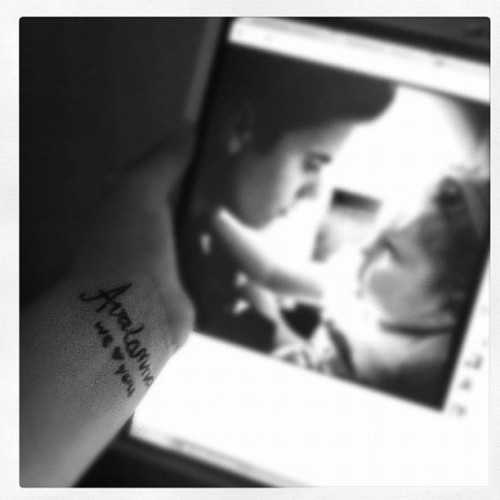 we will always love you baby ♥ #RIPavalanna (Taken with Instagram)