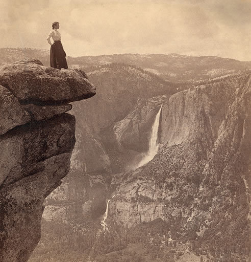 indigodreams:  pbsthisdayinhistory: October 1, 1890: Yosemite Established as National Park On this day in 1890, President Benjamin Harrison signed a bill into law creating Yosemite National Park. This law decreed that about 1,500 square miles of public land in the California Sierra Nevada would be preserved for the public trust.  To learn more about all of America's national parks, explore Ken Burns's The National Parks: America's Best Idea collections. Photo: Library of Congress