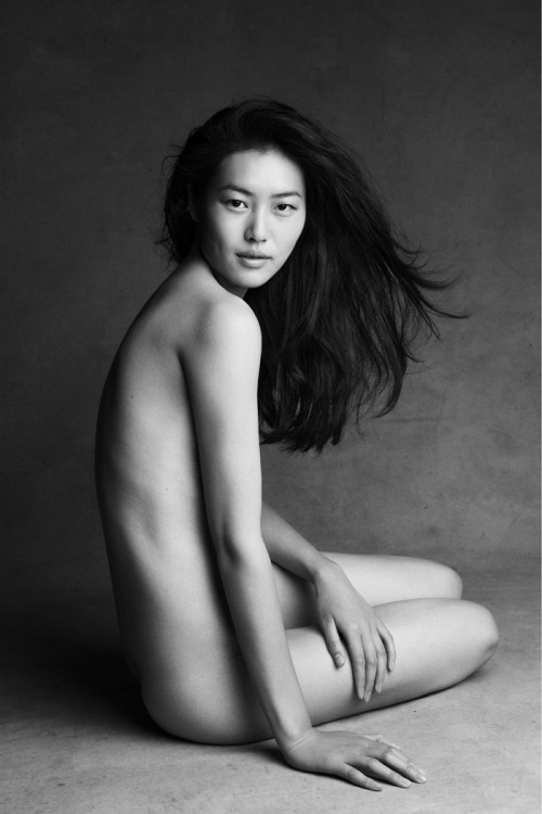 Liu Wen lensed by Patrick Demarchelier