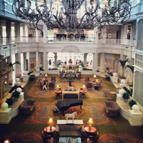 GFlo. (Taken with Instagram at Disney's Grand Floridian Resort & Spa)
