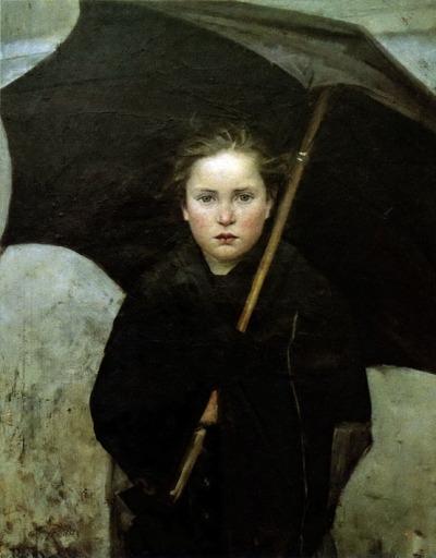 artandopinion:  Umbrella 1883 Marie Bashkirtseff