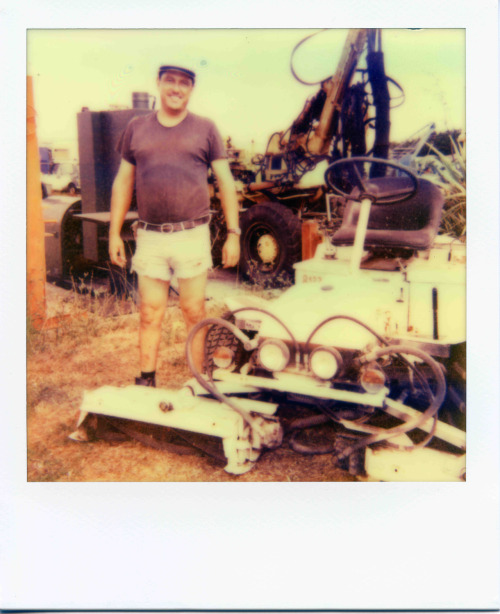 This is the owner of the junkyard where I shot my latest short film. He resembles like a guy coming straight from a Russ Meyer film so I had to take a picture of him…