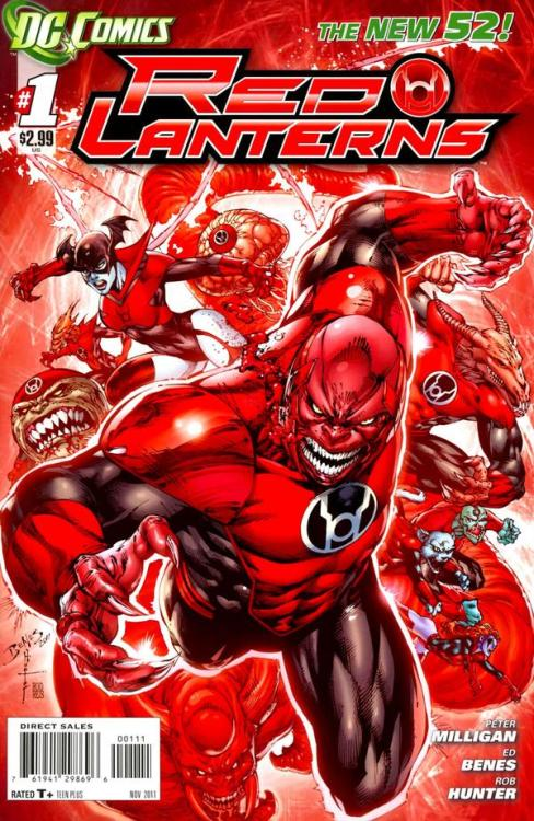 Cover of the Day - Red Lanterns (2011) #1