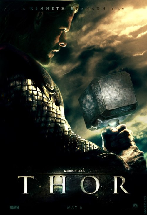 owls-blog:  Thor fanmade Movie Poster by Hobo95.