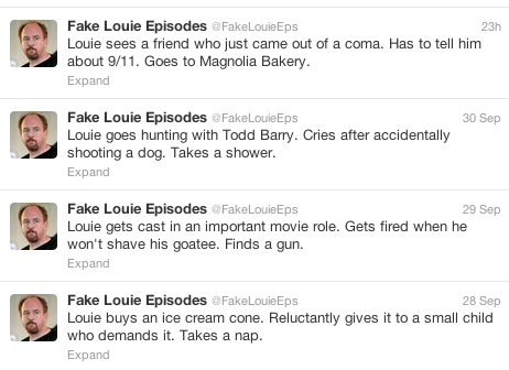 Fake Louie Eps is your new favorite Twitter account.