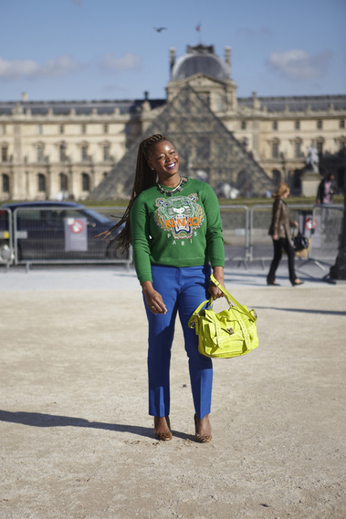 Style Diary: Paris Spring 2013 Fashion Week