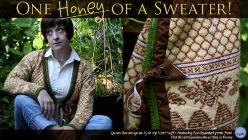 Ravelry: Queen Bee knitting pattern ♥  Thank you @Beeclef for sending!!