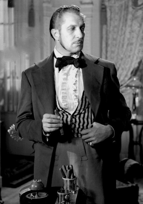 theuncannythings:  Vincent Price in Adventures of Captain Fabian (1951)