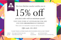 Calling all naturalistas! Love Harlem is having a special offer bonanza with up to 25% off organic & natural hair care for kinky, curly & coily hair. Find out more are www.loveharlem.com/special-offers (via LOVE HARLEM LATEST)