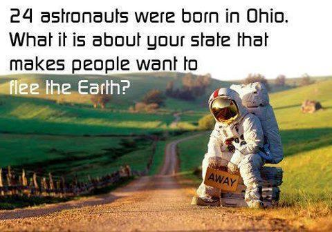 Astronauts from Ohio