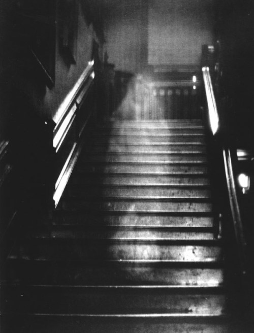 The Brown Lady of Raynham Hall, photo by by Captain Provand and Indre Shira, 1932.