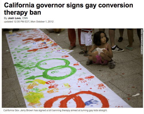 Great news from California!