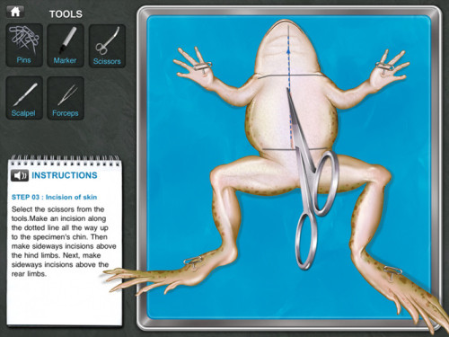 fastcompany:  Frogs will certainly jump for joy at this news: virtual dissection may be the way of the future in America's classrooms.  The one day my parents allowed me to skip school was in 5th grade when my class dissected a frog.