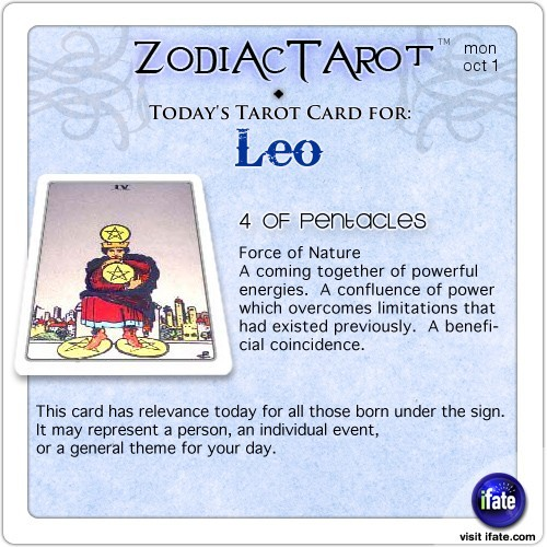 "Click on ZodiacTarot! for all the zodiac tarot cards for todayHave you seen the best ""love horoscopes"" on the web? :)"