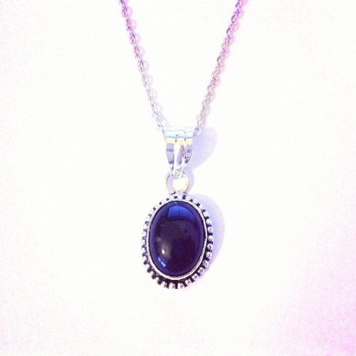 Amethyst Pendant necklace now available at www.emptycasket.co.uk