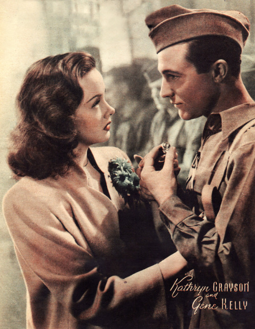 indypendent-thinking:  Gene Kelly & Kathryn Grayson