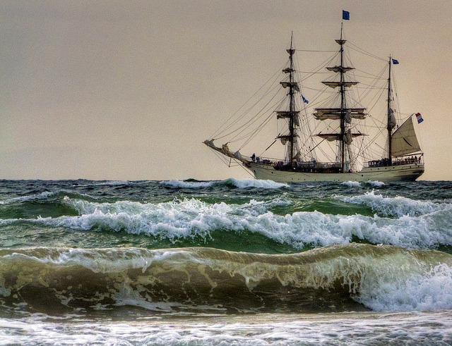 absolutescotland:  2011 Tall Ships Greenock - Europa - A life on the ocean wave by velton on Flickr.