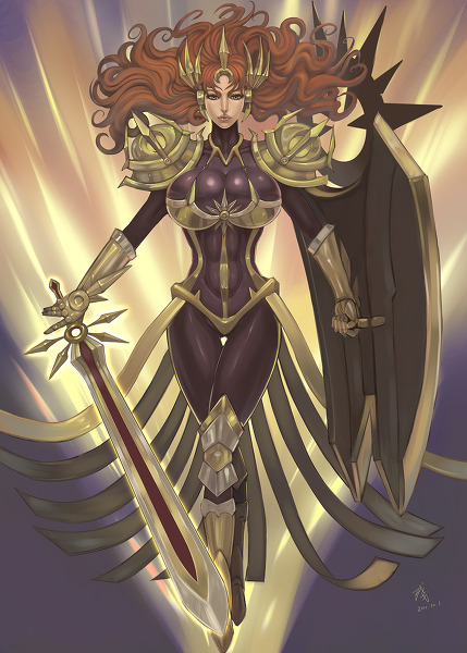 summonerjolan:  Leona