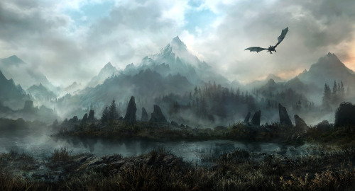 Land Of Skyrim by *JonasDeRo