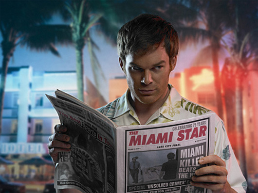 bbook:  Watching 'Dexter' Is Cheaper Than Going To Therapy  Dexter trifecta now in play on my dashboard