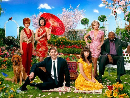pawneepuppyparty:  thedailywhat:  Pushing Daisies May Come Back From The Dead of the Day: It's entirely possible that cult classic Pushing Daisies will receive a magic life-restoring touch — in the form of a stage adaptation. In an interview, Ellen Greene (AKA Aunt Vivian on the show) released this little ray of hope: Actually, there's been talk of a version of it — I'm not supposed to say anything! A possibility… A possibility of stage. I would love for Vivian to exist again. Given that the show also starred Broadway legend Kristen Chenoweth, and featured a bold, over-the-top style, Pushing Daisies would naturally lend itself to becoming a musical — and we might even get to find out how it ends. [mtvgeek]  WHA?!