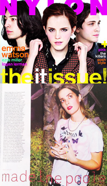 "Check out Nailing Hollywood's very own Madeline Poole in NYLON Magazine!  Follow @MPNails on twitter and mention October ""it"" issue. Ah!"