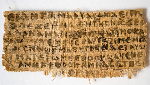Is the 'Gospel of Jesus' Wife' a forgery?Experts are citing the sloppy writing and content as being out of sync with the fabric's alleged origin in time.