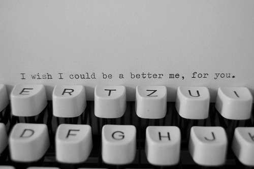 I wish I could get a typewriter
