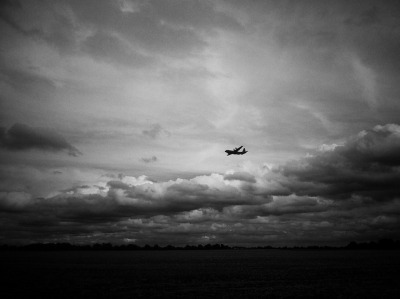 Plane and Clouds by Ilovetodig0044 on Flickr.