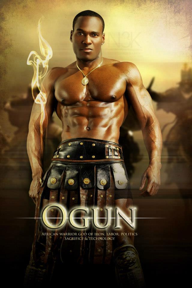 OGUN  Yoruba Warrior Orisha  god  of Iron  Labor  Politics  Sacrifices    Yoruba Orishas